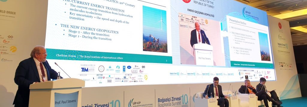 Global Energy Experts at the 10th Bosphorus Summit