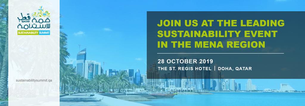 Qatar Sustainability Summit 2019