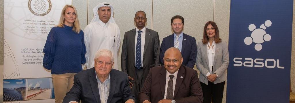 Sasol Renews Al Attiyah Foundation Membership